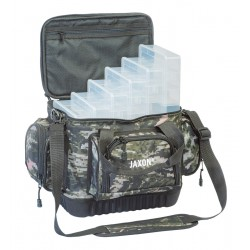 Fishing bags with solid base and RH tackleboxes UJ-XTX04