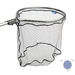 Jaxon Multipower landing net with rubber mesh.