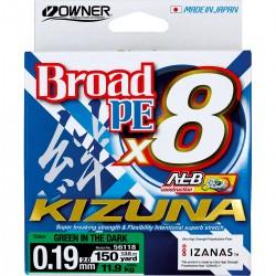 Plecionka Broad PE Kizuna x8